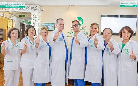 Quy tụ các bác sĩ hàng đầu chuyên ngành sản phụ khoa