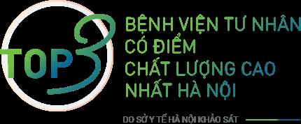 Top 3 bệnh viện tư nhân có điểm chất lượng cao nhất Hà Nội