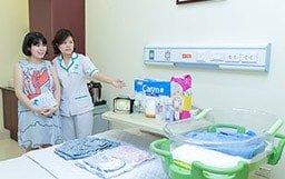 Mẹ bầu không cần chuẩn bị bất cứ vật dụng gì khi đi đẻ