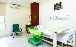 Hệ thống không gian phòng lưu viện sang trọng, tiện nghi như ở trong khách sạn
