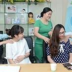 Giao lưu, học hỏi, trao đổi kinh nghiệm với các mẹ bầu khác