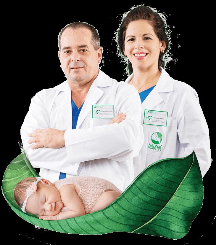đội ngũ bác sĩ QUỐC TẾ