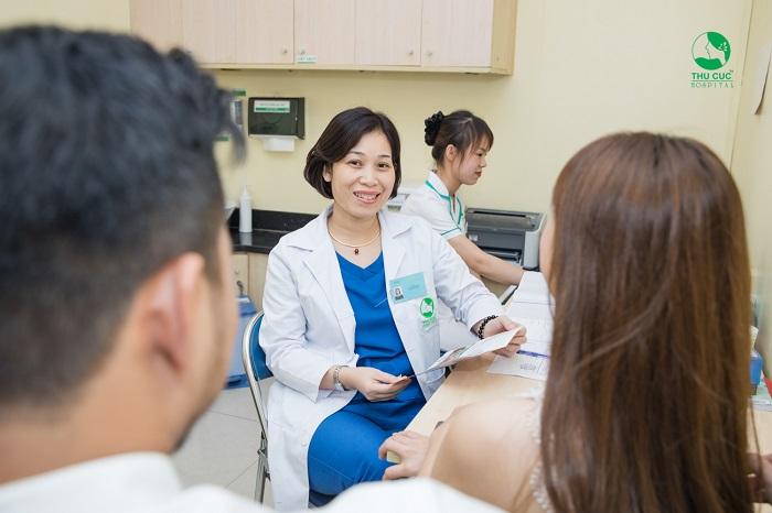 Chăm sóc sản phụ thai chết lưu Cần đến thăm khám tại bệnh viện trước khi có dự định có thai lại