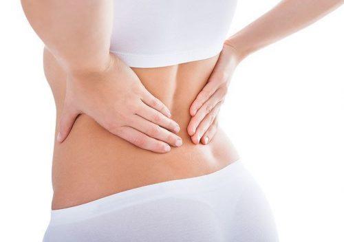 Nhiều chị em đặt vòng xong bị đau lưng