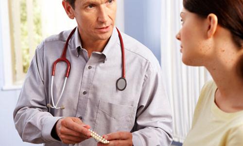 Giới thiệu một số các biện pháp tránh thai và nói rõ các tác dụng của nó cho khách hàng biết.