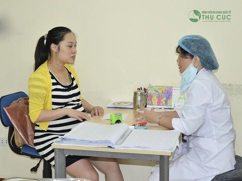 Khoa Phụ sản Bệnh viện Đa khoa Quốc tế Thu Cúc.
