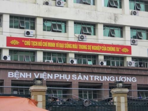 Bệnh viện phụ sản Trung Ương là một trong những bệnh viện phụ sản uy tín nhất hiện nay