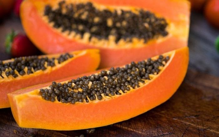 Đu đủ là một loại trái cây tốt cho người bị nhân xơ tử cung