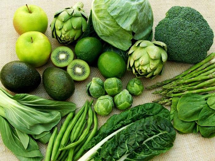 Ăn nhiều các loại rau xanh đậm khi bị u xơ tử cung