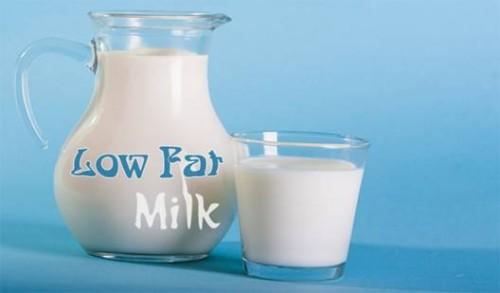 Sữa ít béo giúp tổn thương do viêm lộ tuyến được giảm nhẹ hơn