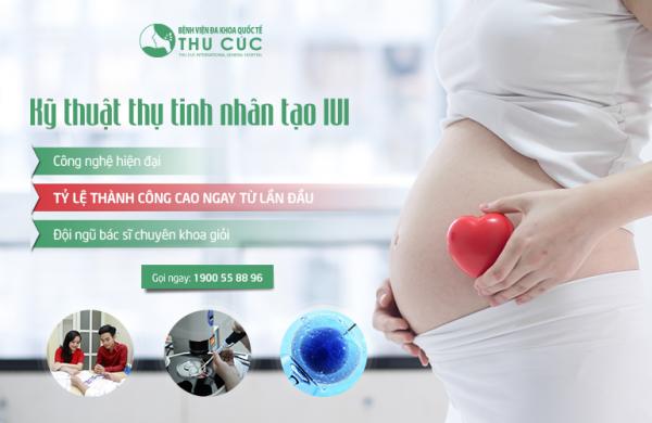 Bơm tinh trùng IUI tại Bệnh viện Đa khoa Quốc tế Thu Cúc