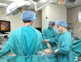 Phẫu thuật u nang buồng trứng tại Bệnh viện ĐKQT Thu Cúc