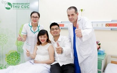 Khám thai định kỳ tại Bệnh viện Đa khoa Quốc tế Thu Cúc