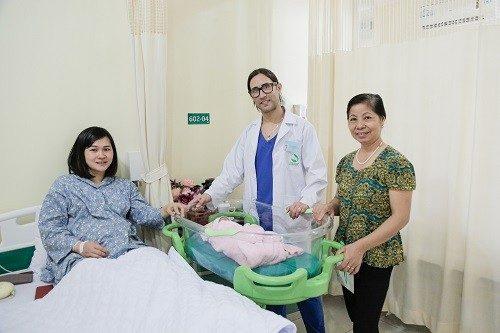 Sản phụ sinh thường tại Bệnh viện Thu Cúc ở lại từ 1 - 2 ngày.