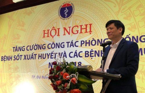 Phát biểu về dự báo dịch sởi của Thứ trưởng Bộ Y tế Nguyễn Thanh Long