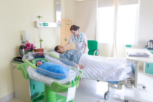BV ĐKQT Thu Cúc cung cấp đầy đủ dịch vụ tiện ích cho mẹ sau sinh
