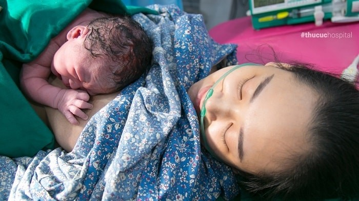 sinh thường tại bệnh viện ĐKQT Thu Cúc