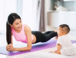 Sau sinh có nên tập gym?