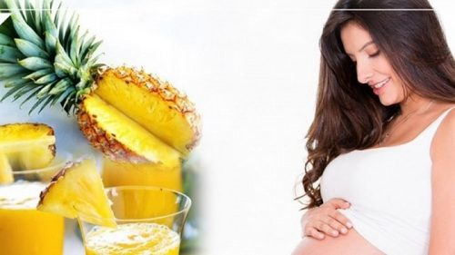 Ăn dứa vào những tháng cuối thai kỳ giúp mẹ bầu sinh thường dễ dàng hơn