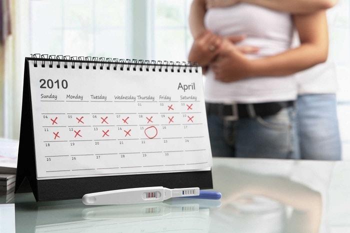 Tránh thai sau sinh bằng cách tính ngày rụng trứng