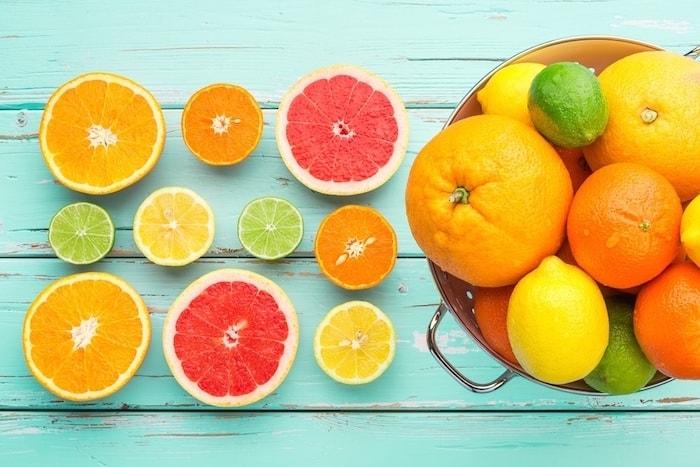 Nhóm trái cây giàu vitamin C Mâm cơm ở cữ sau sinh mổ