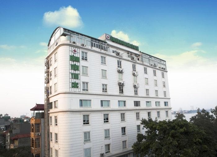 Bệnh viện ĐKQT Thu Cúc với cơ sở khang trang tại số 286 Thụy Khuê