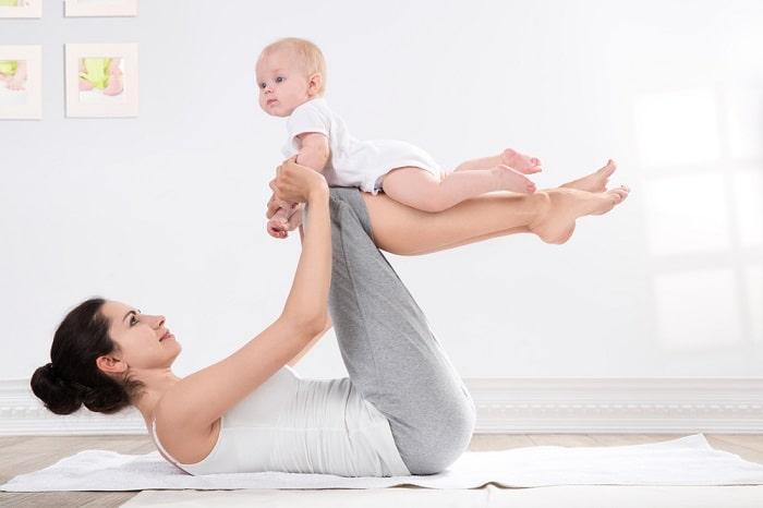 Tập yoga sau sinh giúp giảm cân và lấy lại vóc dáng nhanh chóng