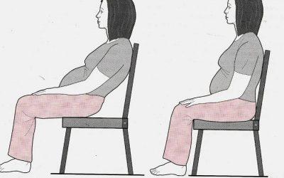 Tư thế nằm và ngồi đúng cách trong 3 tháng đầu mang thai