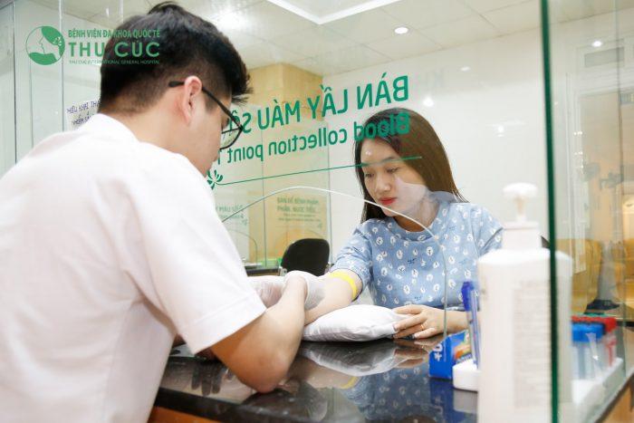 Bệnh viện ĐKQT Thu Cúc là địa chỉ được rất nhiều mẹ bầu tin tưởng lựa chọn để thực hiện các xét nghiệm khi mang thai và vượt cạn