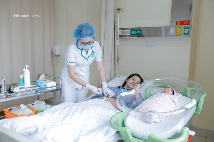 """Bệnh viện ĐKQT Thu Cúc mang đến cho mẹ bầu trải nghiệm hoàn toàn khác khi """"vượt cạn"""""""