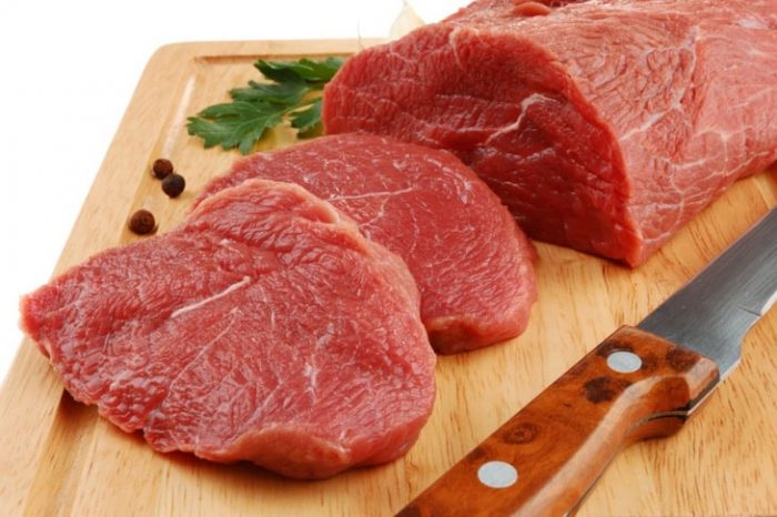 Thịt bò giúp mẹ bầu tăng tiết sữa