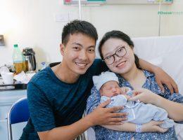Dịch vụ chăm sóc bà đẻ tại bệnh viện ĐKQT Thu Cúc
