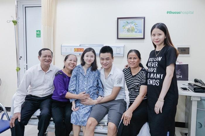 Bệnh viện ĐKQT Thu Cúc không hạn chế số lượng người thân vào thăm mẹ bầu