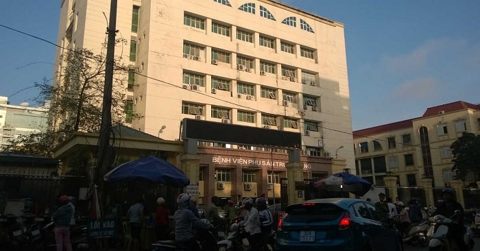 Bệnh viện phụ sản trung ương nằm ở đâu