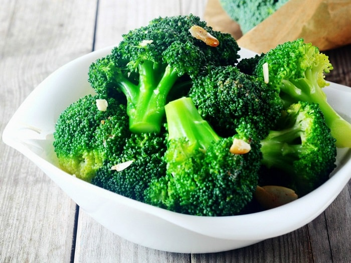Bông cải xanh rất tốt cho mẹ bị thiếu máu