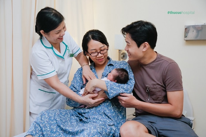 Mẹ bầu thoải mái đi sinh tại bệnh viện Thu Cúc