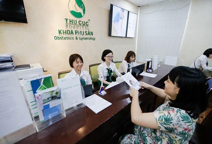 Bệnh viện ĐKQT Thu Cúc có nhiều chính sách hỗ trợ mẹ bầu