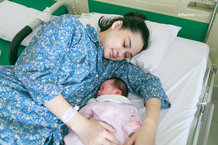 """Đẻ thường """"nhàn tênh"""" với thai sản trọn gói tại bệnh viện ĐKQT Thu Cúc"""