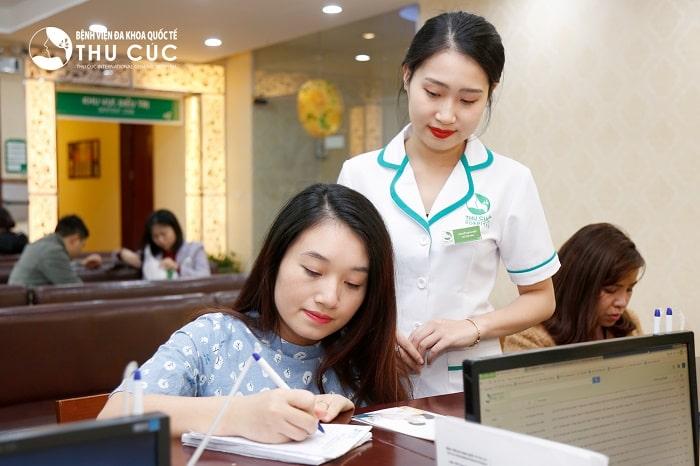 Khám thai tại khoa sản bệnh viện lớn như Tâm Anh, Hồng Ngọc, Thu Cúc ....đều có chế độ khám thai ngoài giờ hành chính