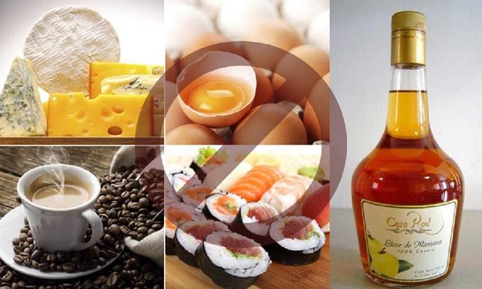 Đây là những thực phẩm trả lời cho câu hỏi mang thai 3 tháng đầu cần kiêng những gì