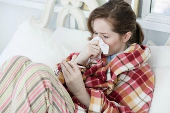 Bị sốt khi mang thai