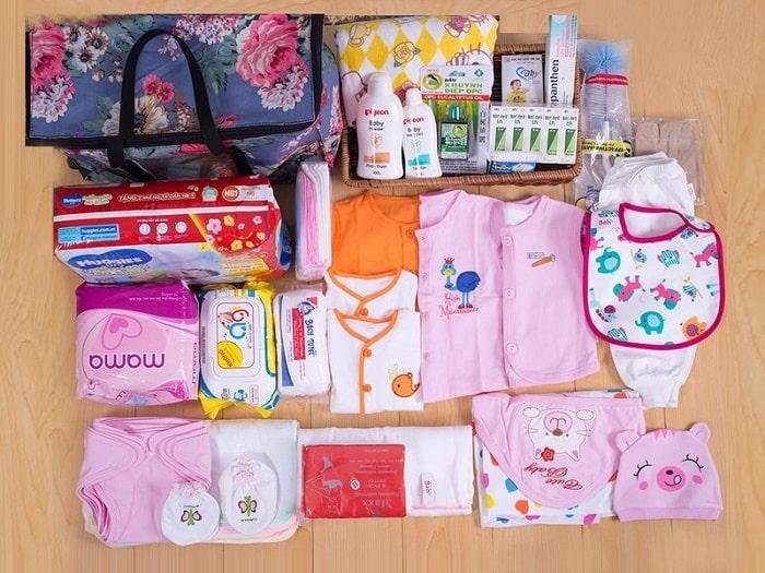 Sinh con ở bệnh viện Bưu điện mẹ bầu phải chuẩn bị khá nhiều đồ đạc
