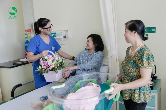 Bệnh viện ĐKQT Thu Cúc, sẵn sàng hỗ trợ và đồng hành cùng mọi sản phụ để hành trình đón con yêu là trải nghiệm tuyệt vời và hạnh phúc nhất