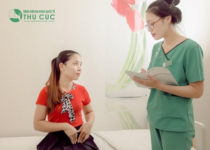 Thăm khám bác sĩ để xác định nguyên nhân và có hướng xử trí kịp thời