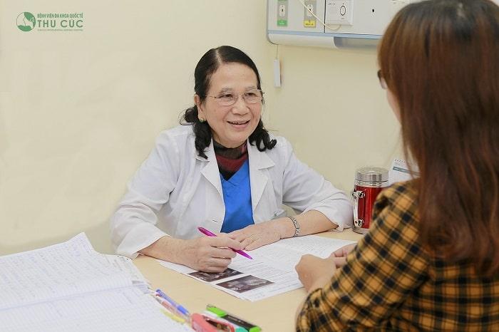 Bệnh viện ĐKQT Thu Cúc là địa chỉ khám và chữa viêm lộ tuyến cổ tử cung uy tín