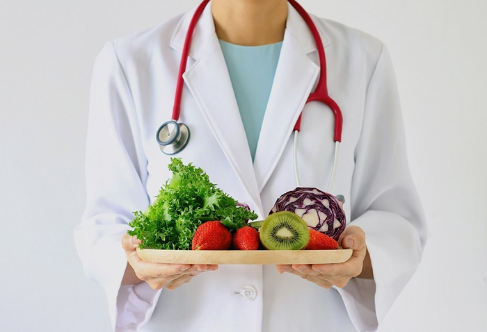 <br /> rau mướp Bà đẻ nên bổ sung nhiều loại rau, quả để bồi bổ sức khỏe và có sữa cho bé bú.