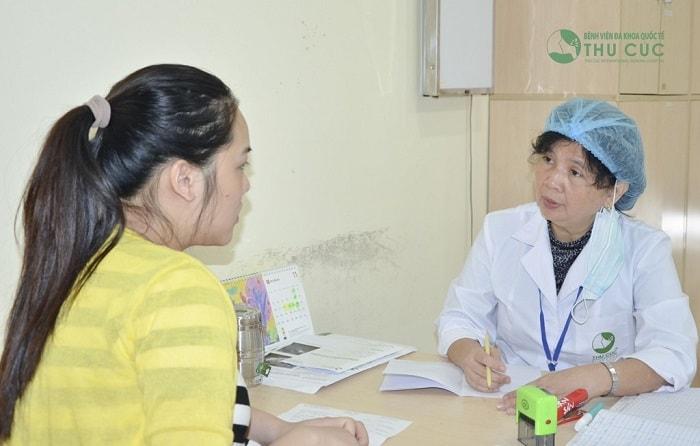 Đến gặp bác sĩ để được kiểm tra, thăm khám và xác định rõ nguyên nhân