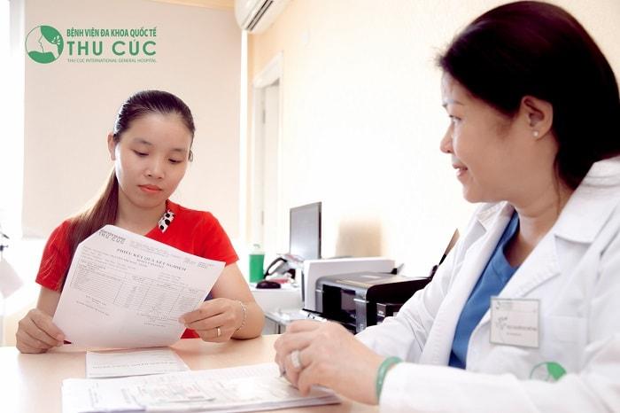 Thăm khám bác sĩ để có hướng xử trí tốt nhất