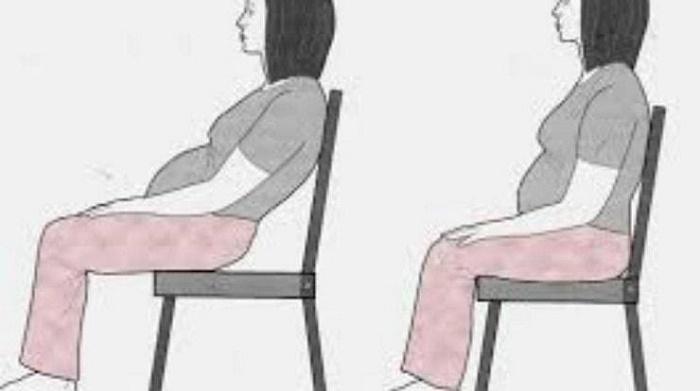 Các mẹ bầu cần ngồi đúng tư thế để không bị đau mỏi và ảnh hưởng tới em bé.