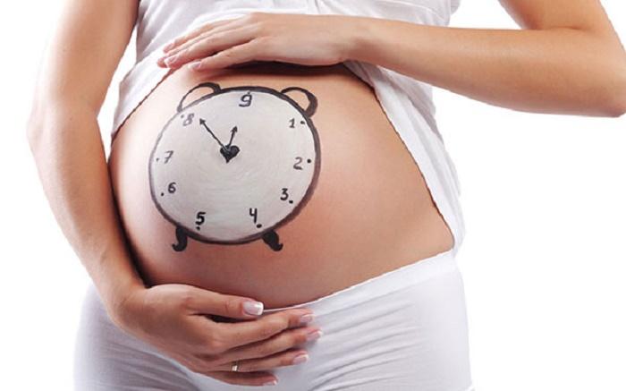 Theo dõi thai máy giúp mẹ biết được tình trạng của em bé trong bụng.